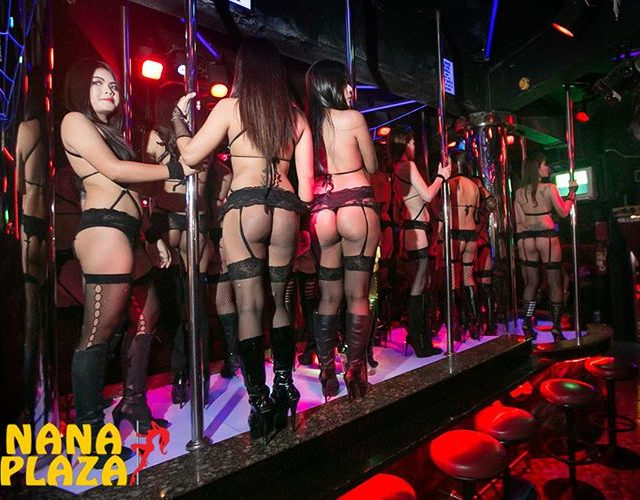 GStrings GarterBelts amp Asses on display at Angelwitch! NanaPlaza Thailandhellip
