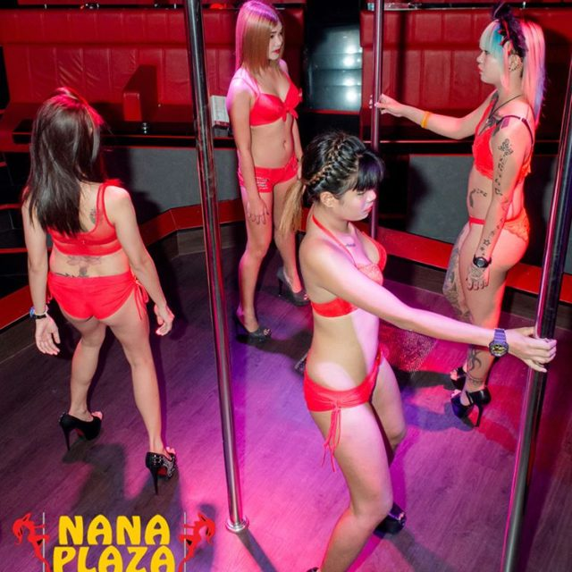 Two stages of fun at BUTTERFLIES! NanaPlaza Thailand Bangkok ThaiGirlshellip