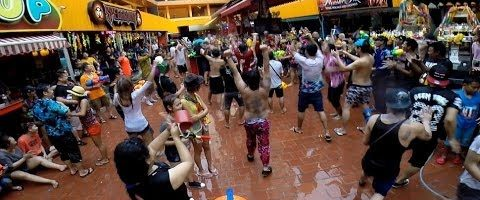 Get Wet & Wild for Songkran at Nana Plaza