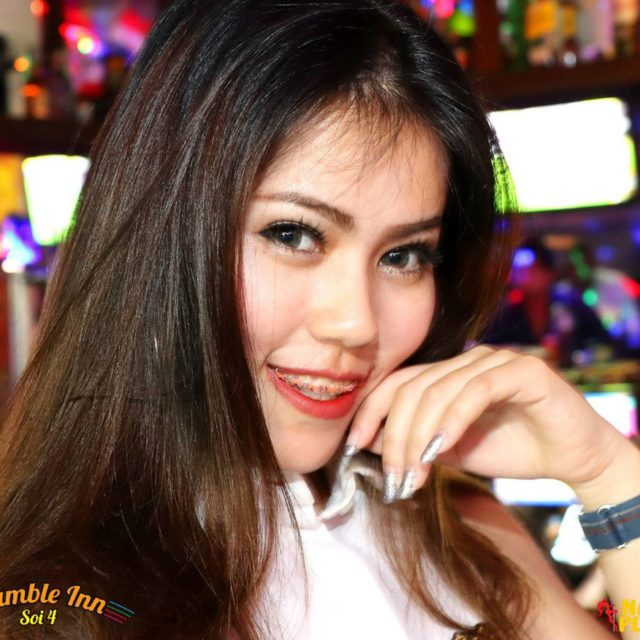 The pretty Sangsom promo girls at StumbleInnBKK NanaPlaza Thailand Bangkokhellip