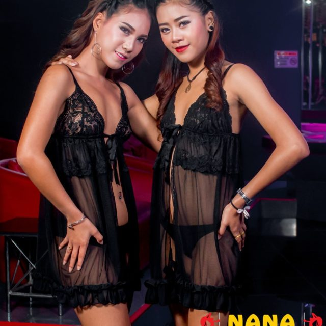 The sexy negligee girls of BUTTERFLIES NanaPlaza Thailand Bangkok ThaiGirlshellip